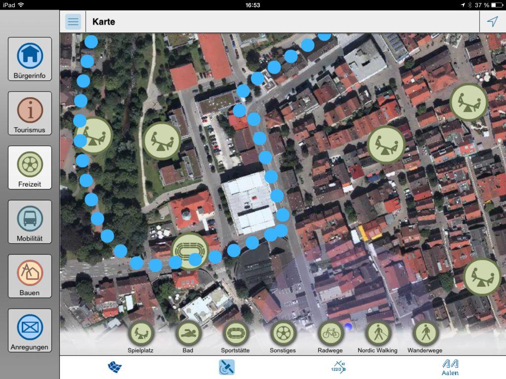 Aalen Geo App Dsl Phone Jack Wiring Diagram Ansicht Der Freizeitmglichkeiten